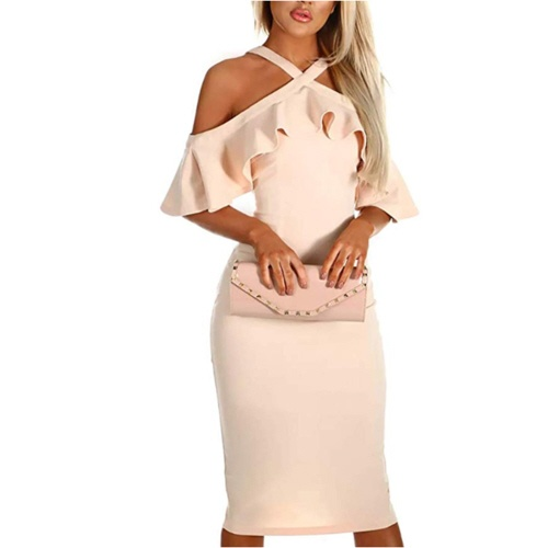 Nude Cocktail Dress