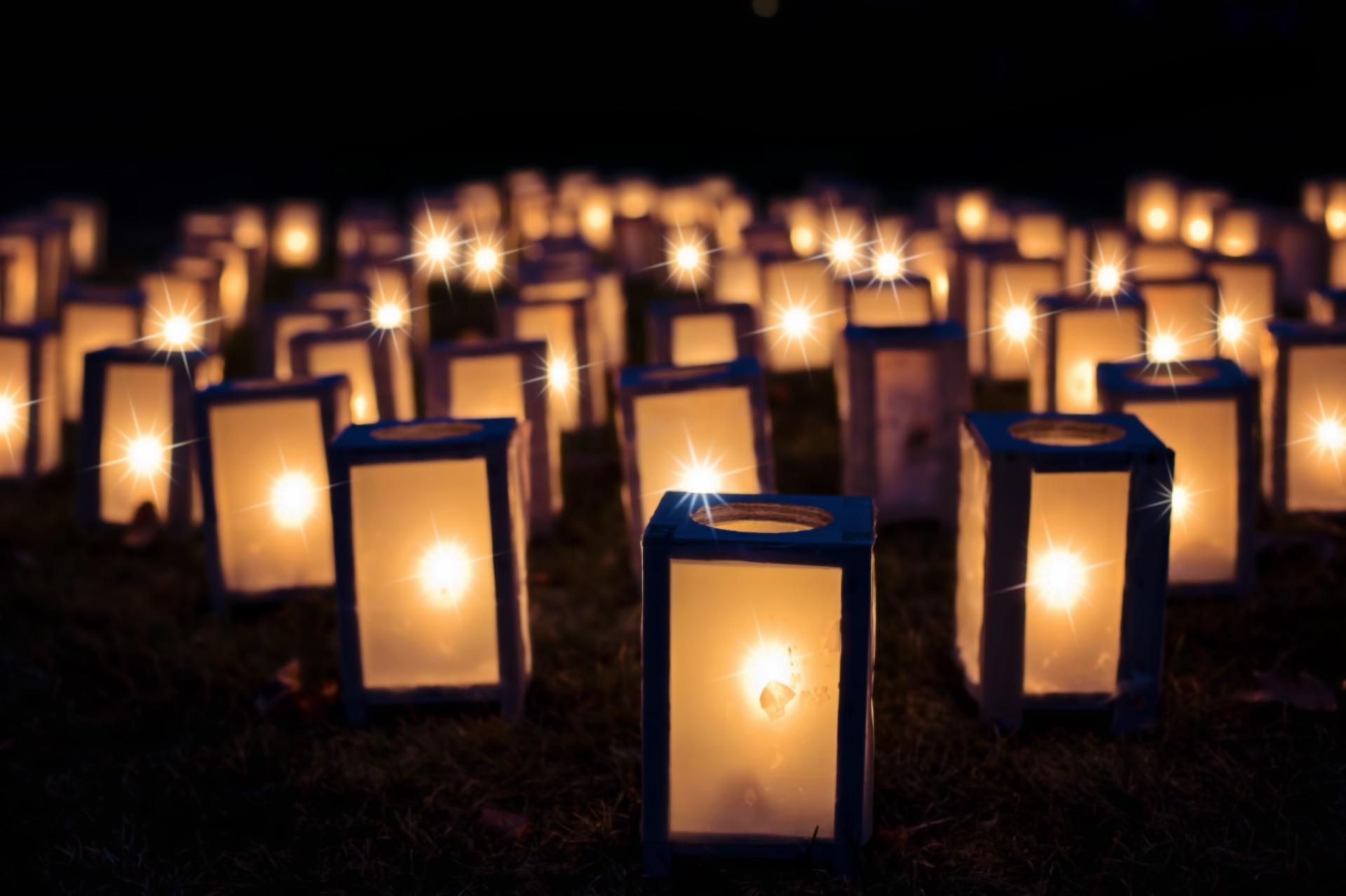 Brookgreen Gardens Night of 1000 Candles display