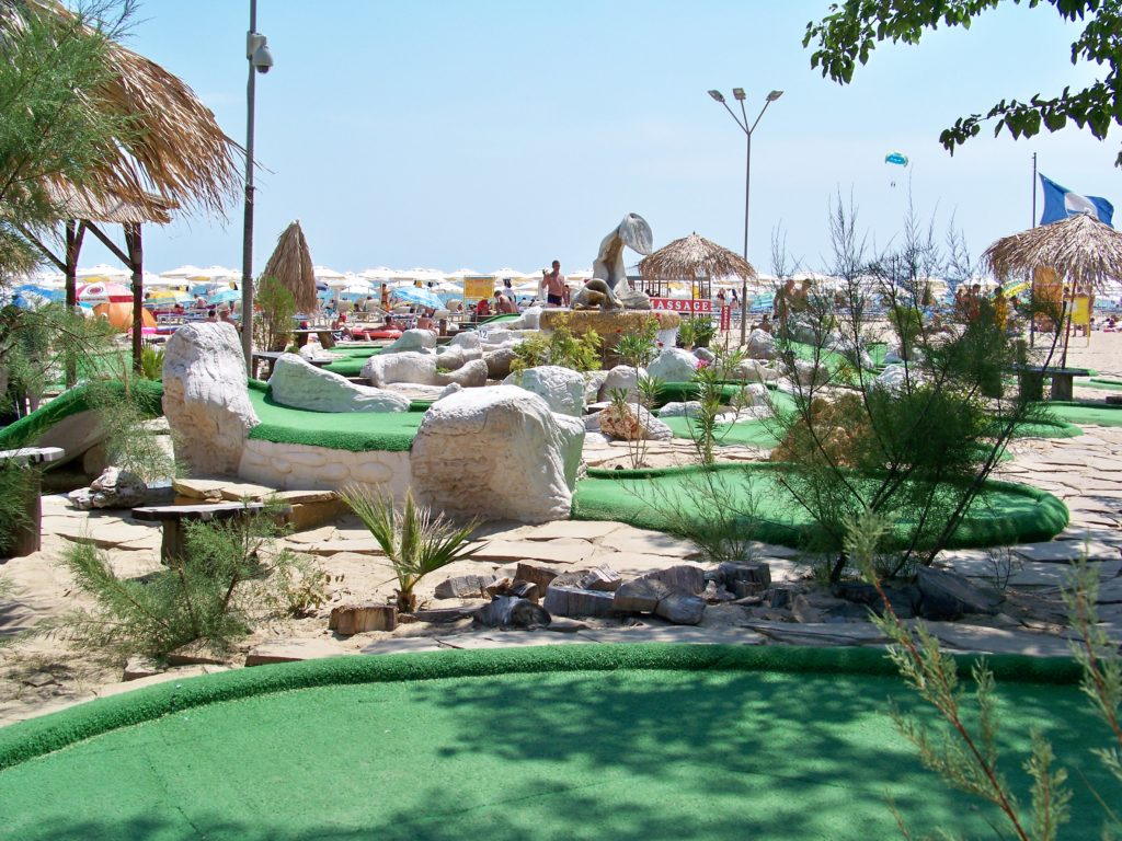 The Grand Strand is rated Number 1 in Mini golf courses