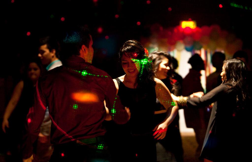 Dance club scene in Myrtle Beach