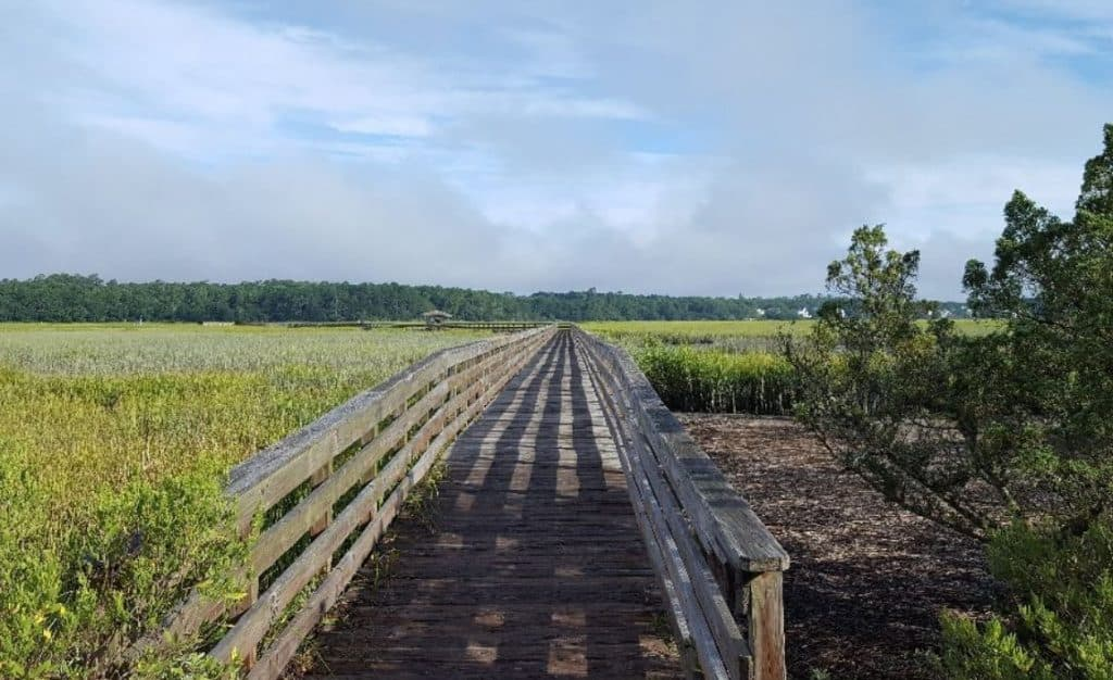 Huntington Beach State Park Boardwalk