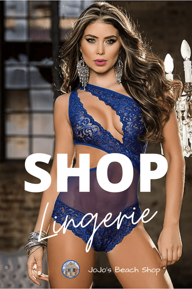 lady wearing blue lingerie