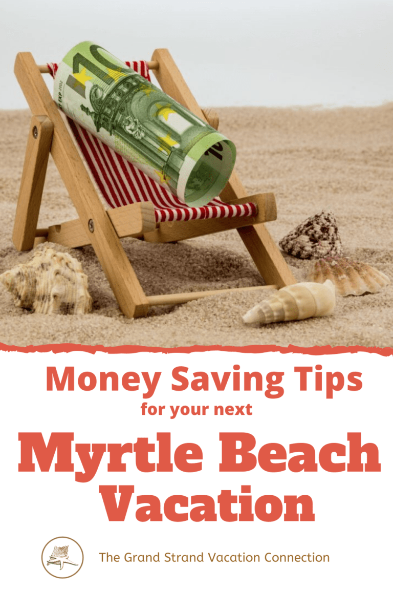 beach chair with cash money saving tips