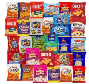 Snack pack of goodies