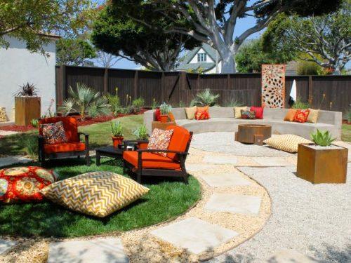 beautiful backyard design